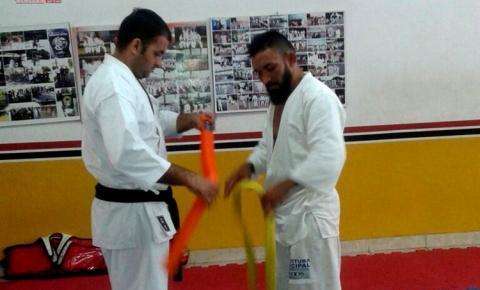 Em Santarém Messias Pico de Jaca, atleta obidense, recebe graduação em Karatê no dia 02 de outubro