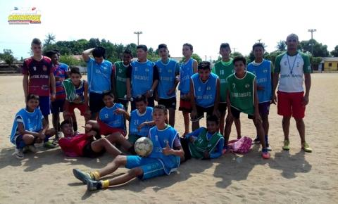 Projeto de futebol de base que teve início em julho de 2017, terá sua primeira partida oficial, contra a cidade de Nhamundá.