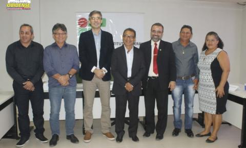 Reitor do Instituto Federal do Pará visita o Campus Óbidos.