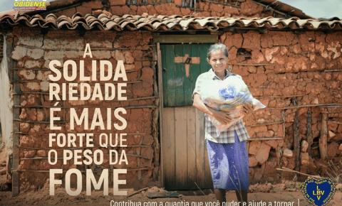 Campanha da LBV arrecada doações de alimentos não perecíveis Mobilização social por um Natal mais feliz a milhares de famílias