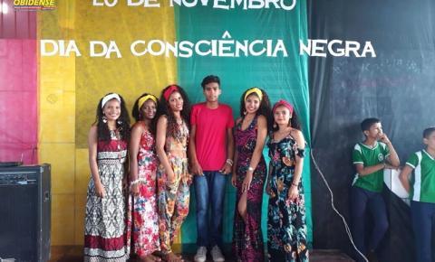 """Aconteceu na escola municipal Dr. Raymundo Chaves o projeto """"Gincana Cultural: Um olhar de respeito e valorização a cultura Afro-brasileira""""."""