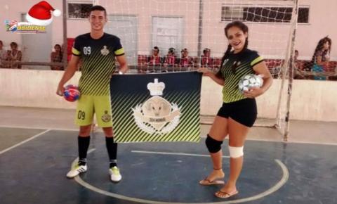 Foi eleito o Garoto e Garota olímpicos, nos jogos internos da Escola Estadual São José de Óbidos.