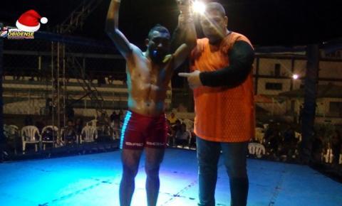 Mais uma vitória para o município de Óbidos, Oeste do Estado do Pará, nas Artes Marciais Mistas, MMA.