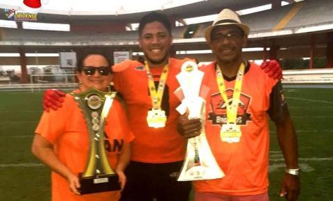 Filho de Obidenses disputará a final do Amazonas Bowl nesta terça-feira (19) as 20h na Arena da Amazônia defendendo o Tarumã Broncos.