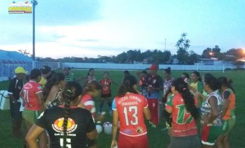 Seleção Feminina Obidense viajou nesta quarta-feira (17) para a cidade de Prainha em busca do título da Copa Oeste