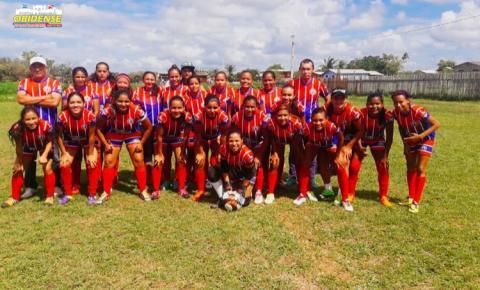 Seleção Obidense empata e se classifica para as quartas de final da II Copa Oeste Feminino, nossas meninas entram em campo hoje as 16hs.
