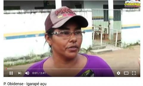 Após protestos de moradores na comunidade do Igarapé Açu, inconformados com alguns servidores da escola Mestre Pacifico, as aulas reiniciaram dia 16.