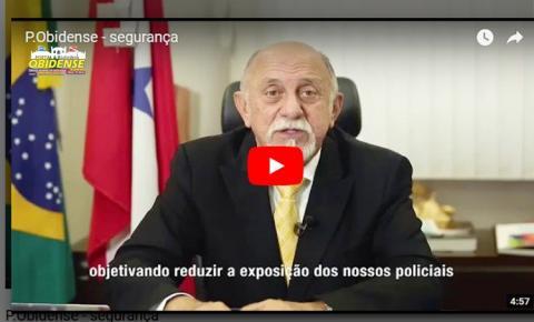 Matéria em vídeo - Simão Jatene anuncia novas medidas para reforçar ações de segurança no estado