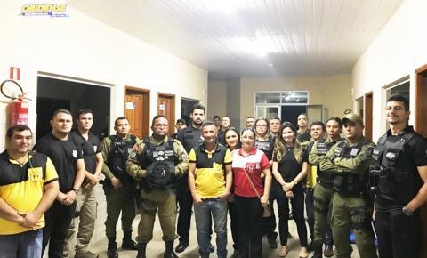 """Operação realizada em Oriximiná denominada """"18 de maio"""" reuniu uma força tarefa incluindo vários órgãos de segurança pública."""