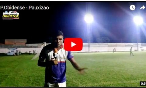 Matéria em vídeo – O Portal Obidense foi até estádio Arizão acompanhar Nascente e Udinese na Final do Pauxizão