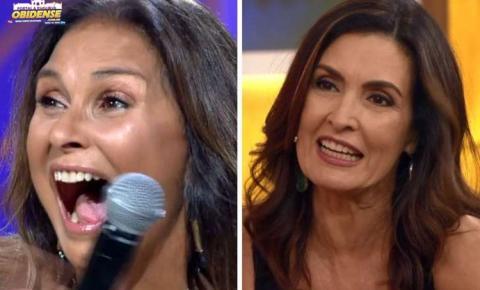 "Fátima Bernardes surpreende Fafá de Belém no ""Encontro"" desta quinta (24)"