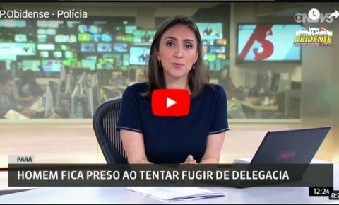 Homem preso em buraco de ar-condicionado em delegacia de Óbidos vira notícia nacional
