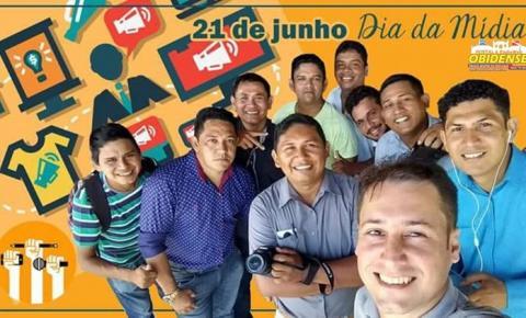 Presidente da Câmara de Oriximiná fez um post especial lembrando a data do dia 21 de junho dia da mídia