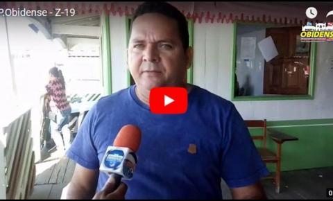 Emerson Canto presidente da Colônia de Pescadores Z-19, fala ao Portal Obidense sobre a grande conquista da liberação do seguro defeso.