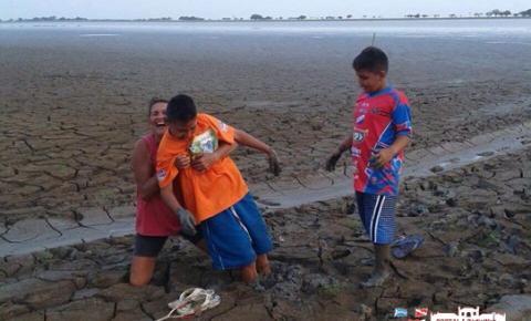 Várias regiões do município de Óbidos sofrem com a seca de rios e lagos.