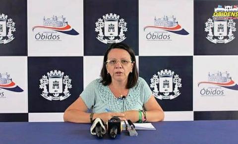 Prefeito Chico Alfaia Fala sobre a mudança de secretário de educação do município de Óbidos.