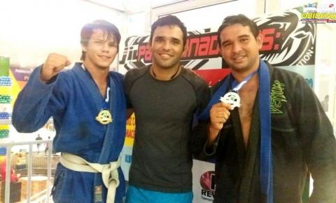 Atletas obidenses conquistam medalha de ouro em evento de Jiu-jitsu realizado em Santarém.