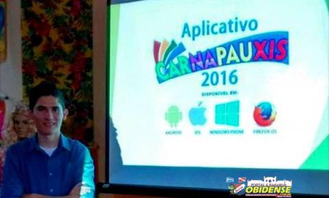 Obidense eleito o melhor universitário do mundo em 2015, lança APP para o Carnapauxis.