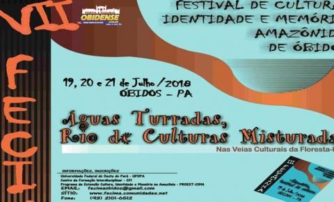 VII Fecima será no mês de julho nos dias 19, 20 e 21 de julho, no município de Óbidos.
