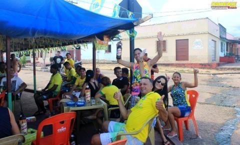 Obidenses em diversos pontos da cidade torceram e sofreram com a derrota da seleção brasileira na Rússia
