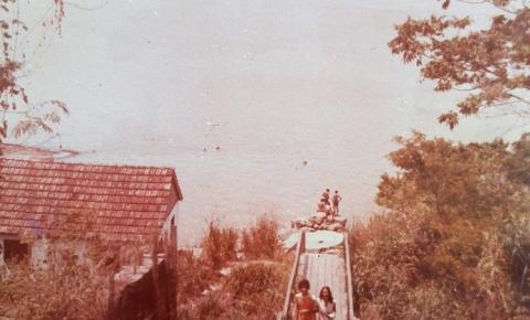 """Escadaria da antiga """"cabeça do padre"""""""