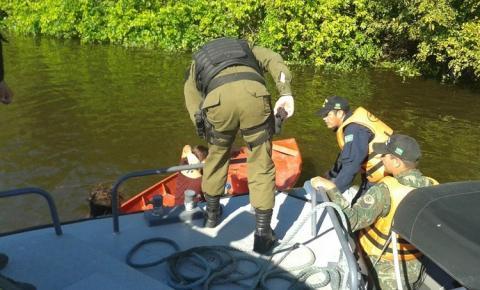 Polícia militar em parceria com a marinha do Brasil realizam operação integrada no rio Amazonas+