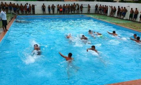 Curso de Aquaviários é realizado em Óbidos. As provas estão sendo realizados na ARPA e escola José Tostes