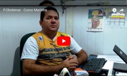 O presidente da Colônia Z-19 em entrevista ao Portal Obidense explica sobre os curso que estão sendo realizados em Óbidos.