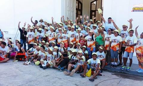 Oriximinaenses em ato de fé e amor preparam romaria e irão enfrentar 75km de Oriximiná a Óbidos a pé para saudar senhora Sant`Ana