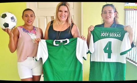 Após contemplar o município de Oriximiná, na área de segurança, saúde e educação, vereadora Josy Seixas ajuda na área esportiva