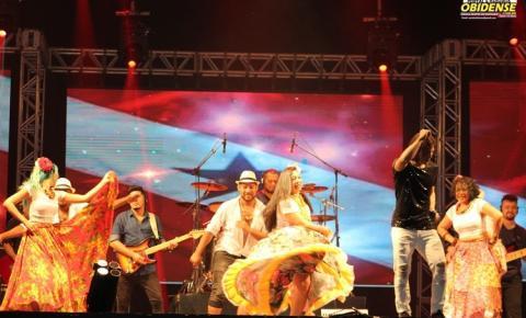 No 1° dia do Festival Paraense, se apresentaram Ângela Rodrigues, Fofinho do Arrocha, Nicolas Jr, Nilson Chaves e Banda Água Cristalina gravando seu DVD