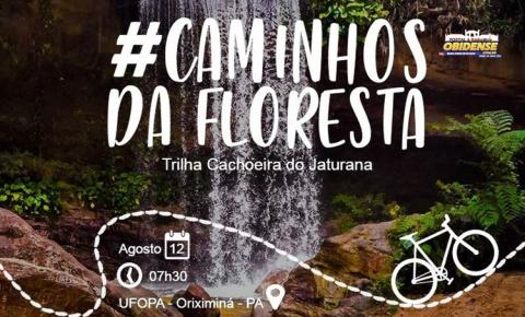 Em Oriximiná o Circuito Alves Balieiro realizará Trilha de bike para a Cachoeira Jatuarana.