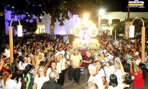 Obidenses se preparam para a festa que encerra a festividade da padroeira do povo católico da cidade.