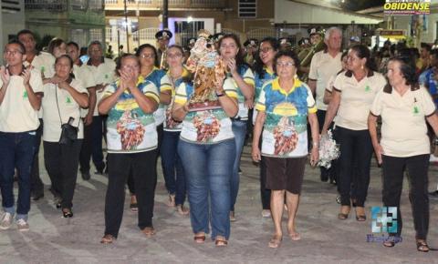 Comunidade obidense festejou o final da festividade da padroeira do povo católico de Óbidos, senhora Sant'Ana.