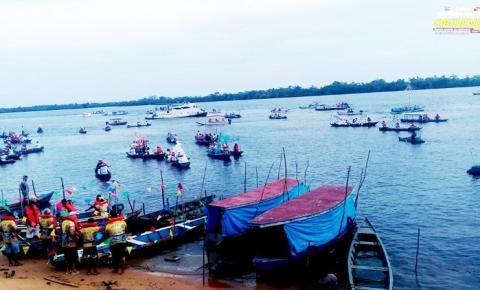 Comunidade Oriximinaense realizou o Círio das Canoas, uma homenagem a Santo Antônio