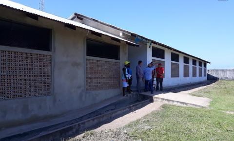 Prefeito Chico Alfaia anuncia a retomada da obra da escola da comunidade Silêncio