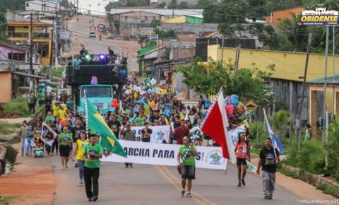 União das igrejas evangélicas realizam em Óbidos, a 8ª edição da Marcha Para Jesus