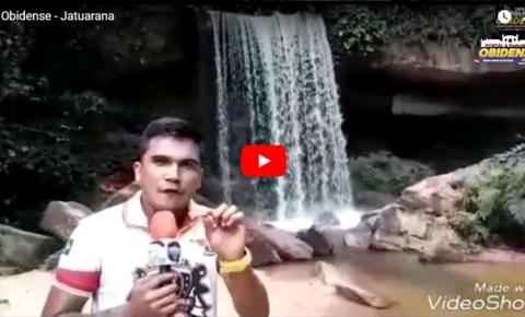 Uma pequena amostra de um paraíso ainda preservado, cachoeira da Jatuarana