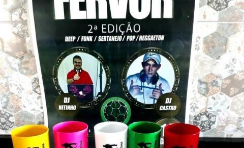 Noite do Fervor edição de Nº 2, dia 18 de agosto marca a volta dos eventos na Quadra Nilton Melo em Óbidos