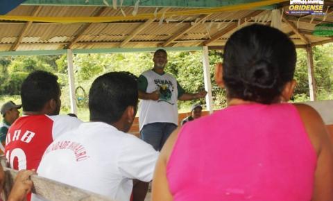 Comunidade do Mamauru discutem sobre preservação ambiental devido à escassez de pescado no lado do mesmo nome