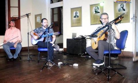 Obidenses acompanham projeto musical realizado no salão do palácio José Veríssimo.
