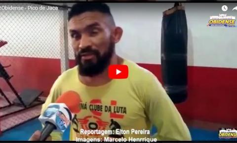 Pico de Jaca, atleta de MMA obidense fala da luta que vai acontecer neste sábado (11) em Santarém contra o Canela de Pedra