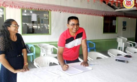 Chapa vencedora das eleições da colônia de pescadores Z-19 é empossada.