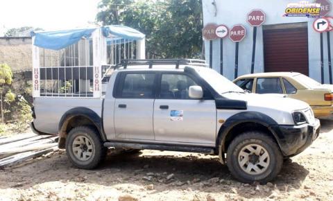 Em Óbidos, DEMUTRAN Apreende Veículo que fazia transporte escolar de forma irregular.