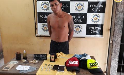 Acusado por assalto em residência, conhecido como Chufer, foi preso nessa madrugada em Alenquer
