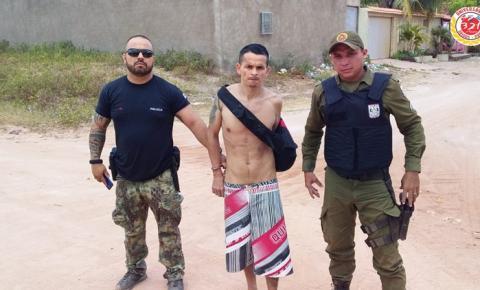 Polícia de Alenquer prende foragido da justiça natural de Monte Alegre