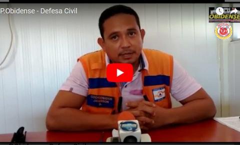 Coordenadoria de Defesa Civil de Óbidos Jamerson Canto fala da penúltima ação da entrega dos kit´s humanitários