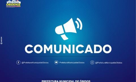 O motivo do cancelamento da ação de entrega dos Kits de Ajuda em Óbidos pela defesa civil foi devido ao falecimento da esposa de um funcionário da mesma