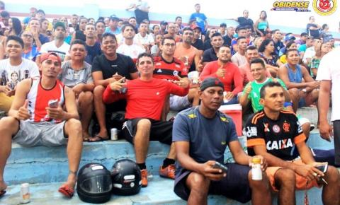 Obidenses começam a voltar ao estádio Ari Ferreira, para torcer para a seleção que é líder da chave na Copa Oeste de seleções