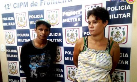Policia de Oriximiná prendeu dupla que furtou produtos da Avon e foram vender no próprio bairro onde mora a vítima